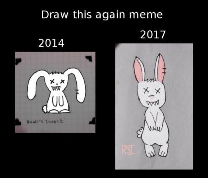 Draw this again meme: Dead pet by RedisInsect