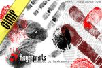 GIMP: Fingerprints by hawksmont
