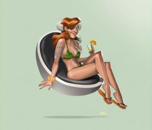 Orange cocktail by joslin