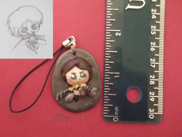 Eren Clay Charm by CutiePoppers