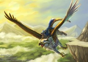 Our flight by J-C
