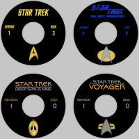Star Trek series labels by maggot216