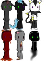 Endermen Adoptables 1 -CLOSED- by XxTwinArmageddonsxX