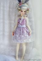 Violet Fairy Dress by ball-jointed-Alice