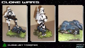 Custom Clone Jet Trooper by jaw500