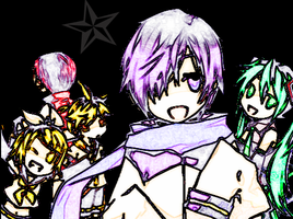 Vocaloids by L-wants-a-cookie-XD
