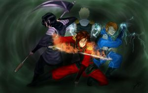 Ninjago - We Stand Together by BubblesRRJ