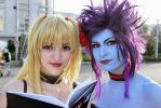 Misa and Evelynn by ladylucienne