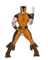 Project Rooftop -- Wolverine by Heroid