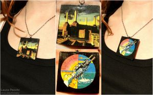 Pink Floyd Pendant by miss-psychosexy