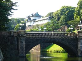 Tokyo Imperial Palace by nensha