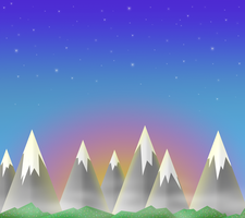 Sunset in Love Valley - wallpaper (smartphone,...) by Mstrl