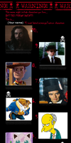 Top 10 Hated Characters. by monstermaster13