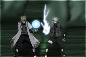 Naruto 664 : Teacher and Pupil by YameGero