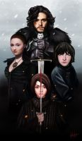The North Remembers by HaNJiHye