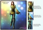 StageDesign for Florence Welch by Nellista