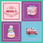 The Grand Budapest Hotel Mendl's Patisserie prints by chamelledesigns