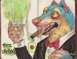 Toxic Whiskey by SamColwell