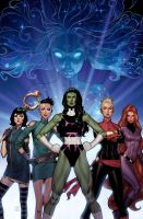 A-Force #1 by ZurdoM