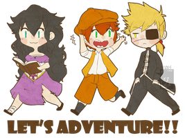Let's Adventure!! 2 by PiruuPi