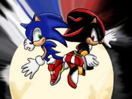 .:Sonic Shadow SA2 Intro:. by Project-Shadow