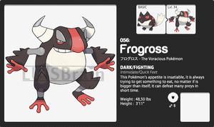 056: Frogross by LuisBrain