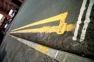 Double Yellow Lines by allthecloudsareblack