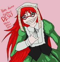 Grell DESU by Toby-Chan