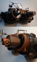 Steampunk Goggles by Tiarn