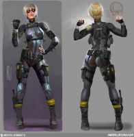 Cassie Cage by camila181