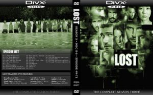 LOST Season 3 DVD Cover by by2on