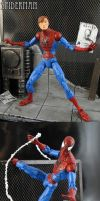The Amazing Spiderman with Magnetic Diorama by Jin-Saotome