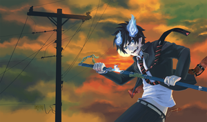 Ao No Exorcist by chons-moon