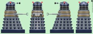 AARU City Dalek by Librarian-bot