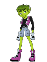 Beast Boy_Old design by BeastGreen