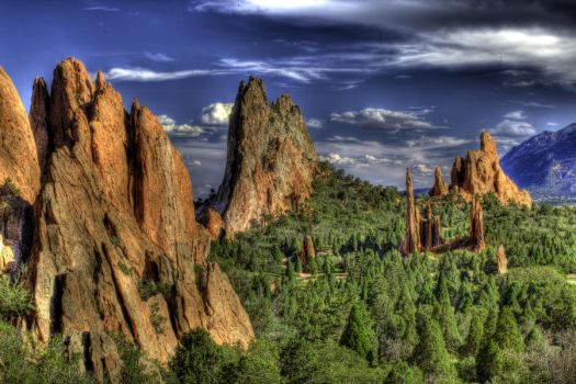 Garden of the Gods by MBRPHOTOGRAPHY