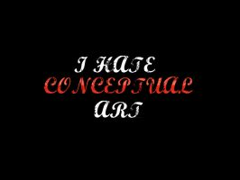 hate conceptual art by Faisalharoon