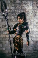 NIDALEE - HEAD HUNTER by witchofNABI