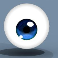 Procedural Eye texture by Pharion