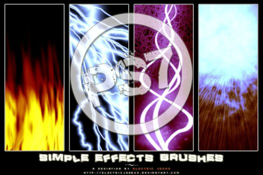Simple Effects Brushes for PS7 by electricjeebus