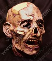 THE DARK Severed Head by KOSARTeffects