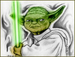 Yoda by Insanemoe