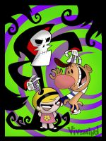 The Grim adventures by VivzMind