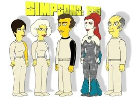 Simpsons: 1999 by mainmission