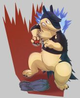 Tony the Typhlosion TF by Heezy by Shaprite91