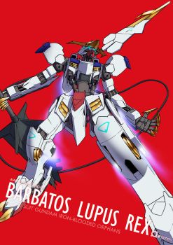 FBA - Barbatos Lupus Rex by orihalchon