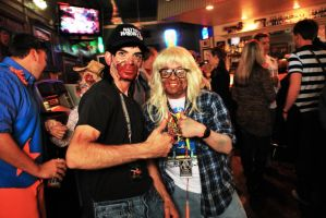 Party On Wayne and Garth ZOMBIE by SublimeBudd