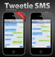 Tweetie SMS for iPhone by Tjdyo