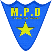 Manehatten Police Department badge Patch Redone by tehAgg