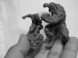 Minis by ZKULPTOR